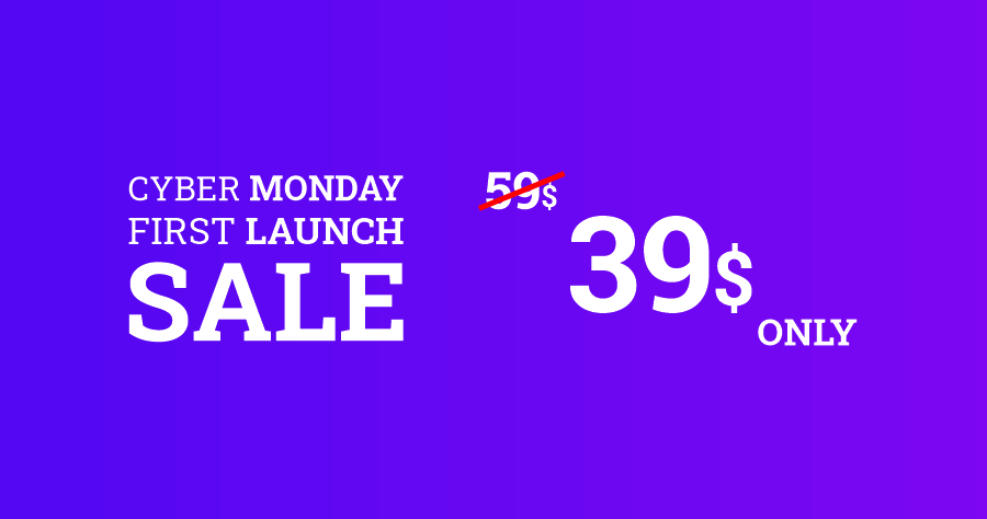 uschema cyber Monday and first launch sale 39 dollars only