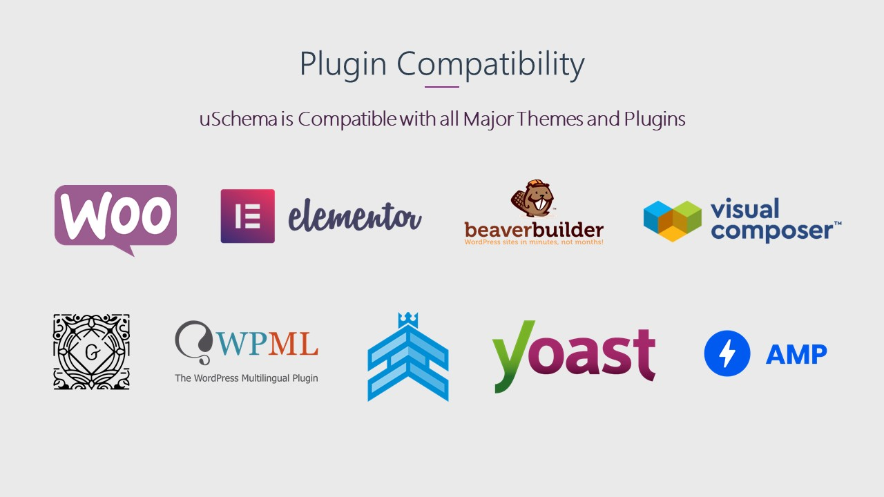 uSchema Compatible with Other plugins