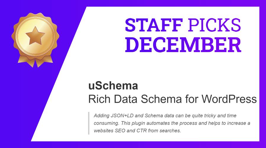 Staff pick december